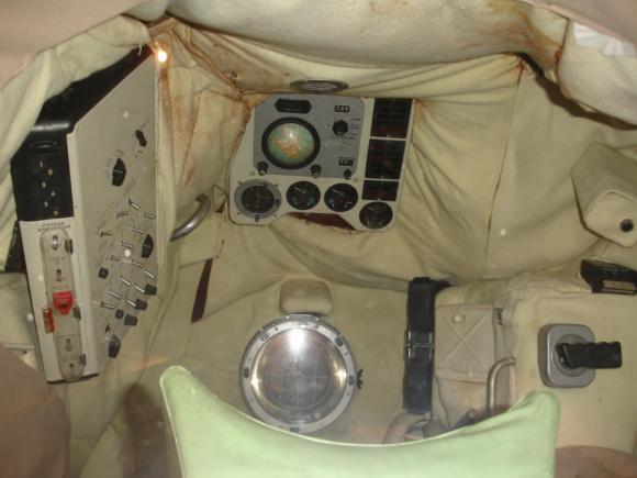 Interior de la cápsula Vostok (Eureka).
