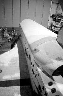 Los huecos de los motores que debía haber llevado el Burán (www.buran.ru).