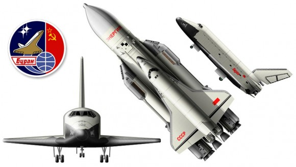 El Burán no era idéntico al shuttle.