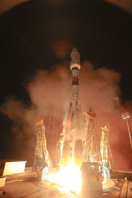 VS06 Soyuz with GAIA, Launch