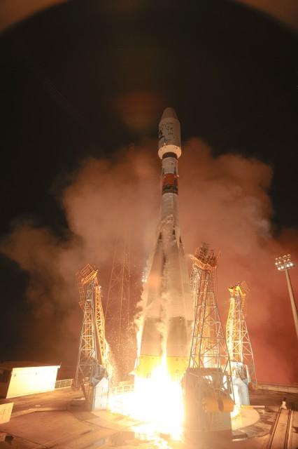 VS06 Soyuz with GAIA, Launch
