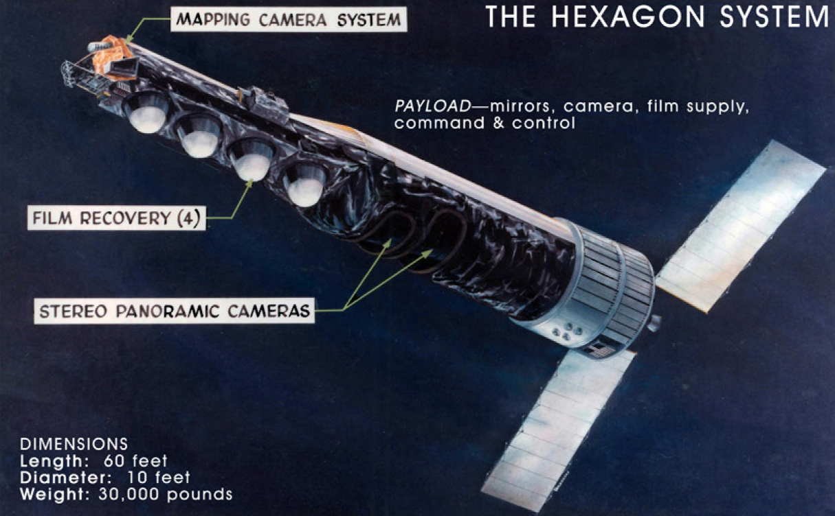 KH-9_HEXAGON_satellite