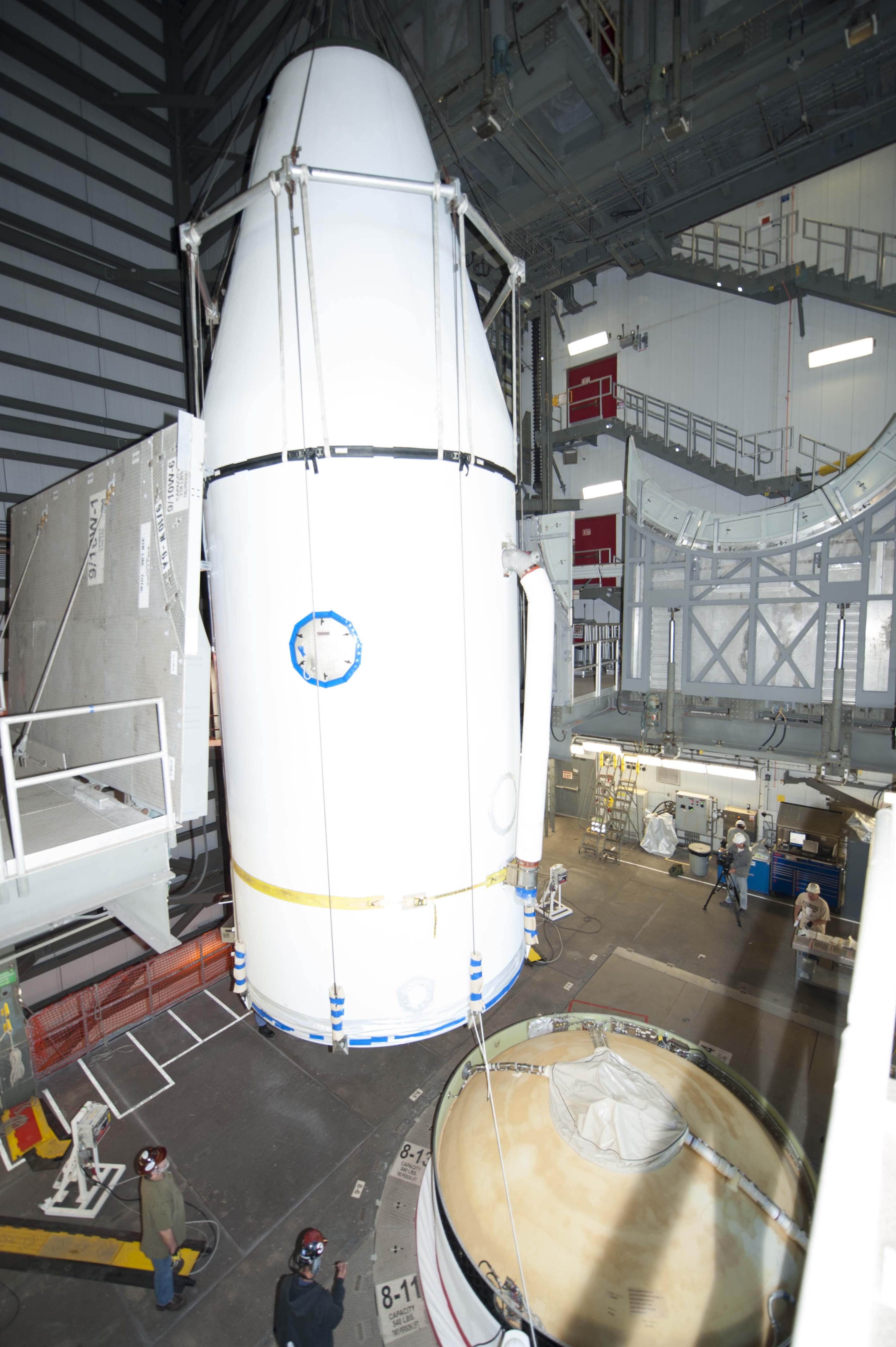 Delta IV GPS-IIF-6 Lift & Mate