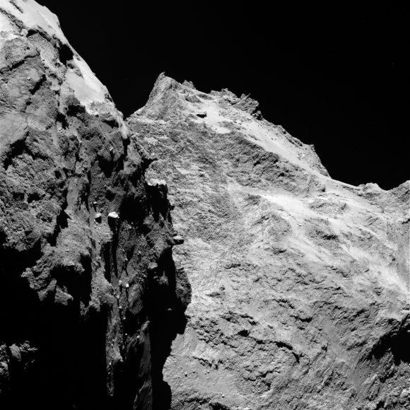 Imagen del 5 de septiembre por la cámara OSIRIS a 62 kilómetros de distancia (ESA/OSIRIS/Rosetta).