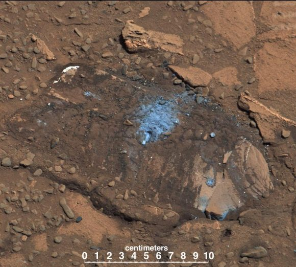 NASA-MSL-Curiosity-Rover-Bonanza-King-Drill-Rock-Light-Color-Vein-pia18478-br2