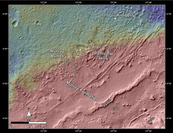 NASA-MSL-Curiosity-Rover-Gale-Crater-Topographic-Map-Pahrump-Hills-pia18474-br2
