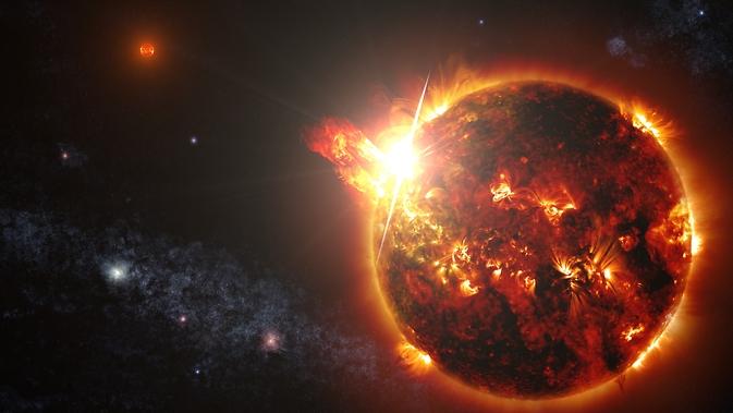 Resultado de imagen para estrella enana roja