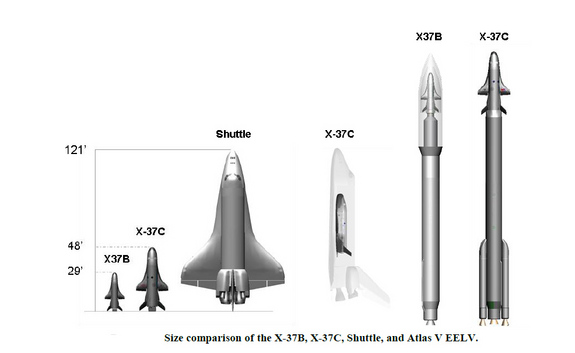 x-37b-size-comparison