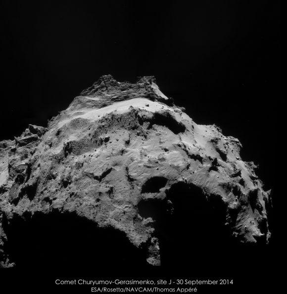 Otra vista del Sitio J (ESA/Rosetta/Thomas Appéré).