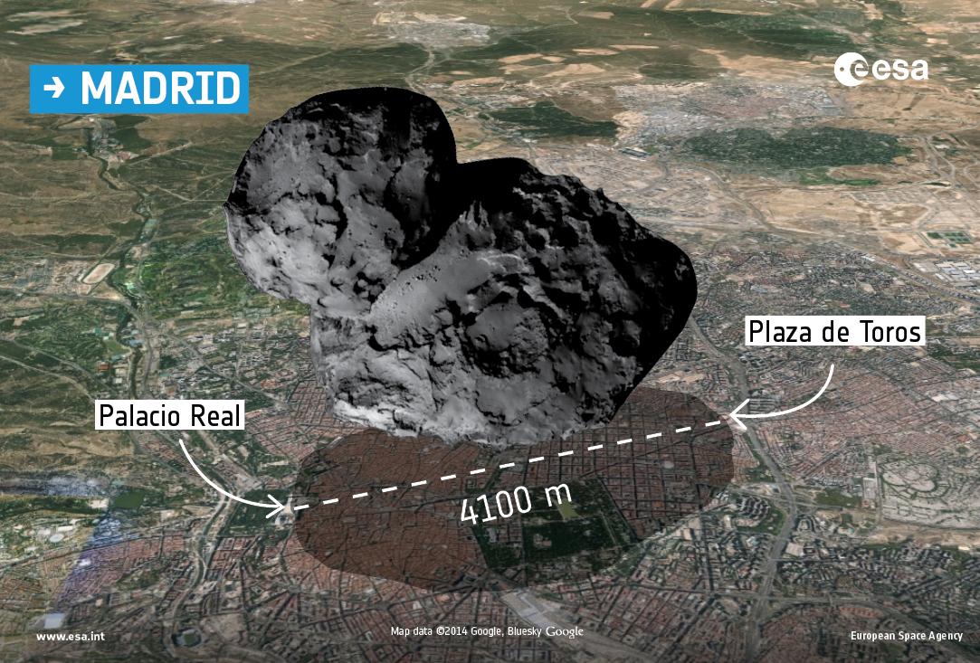 Comet_over_Madrid