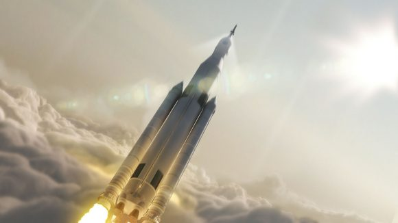 14-2290-SpaceLaunchSystem-AfterLaunch-20140827