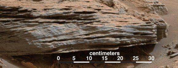 Detalle de la roca Ballena (NASA/JPL).