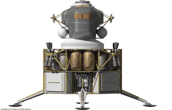 Nave de aterrizaje y ascenso MAV (Boeing/NASA).