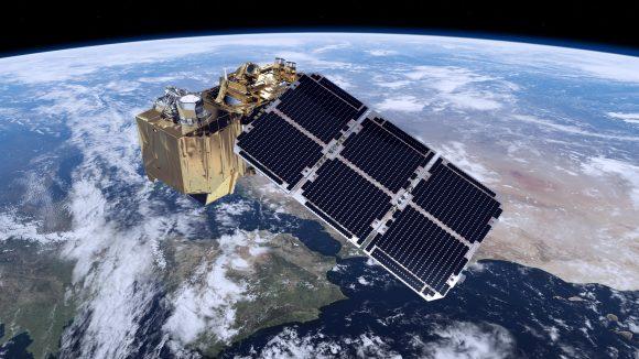 Satélite científico de la ESA Sentinel-2A (ESA).