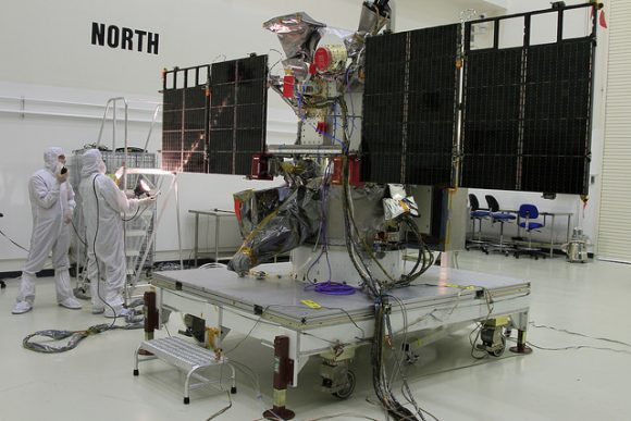 Satélite DSCOVR (NASA).