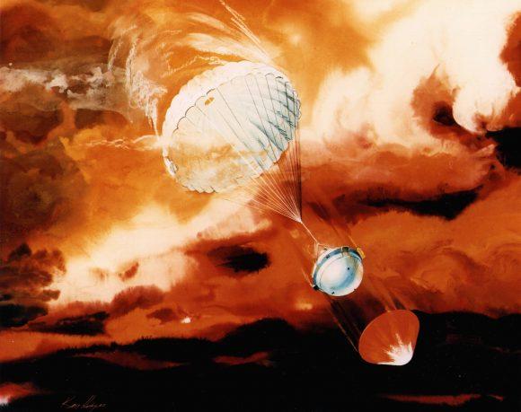 Una sonda atmosférica en Saturno sería muy similar a la cápsula de la misión Galileo (en la imagen)(NASA/JPL).
