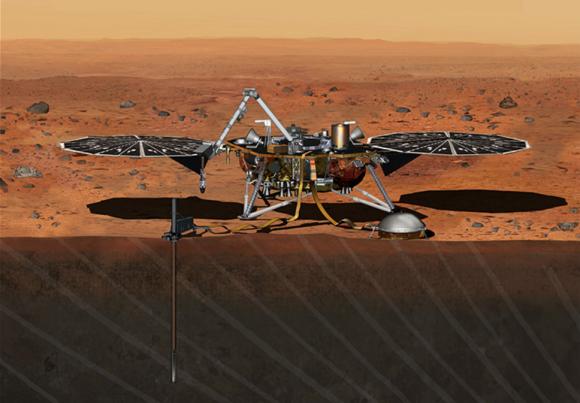 Sonda InSight (NASA/JPL).