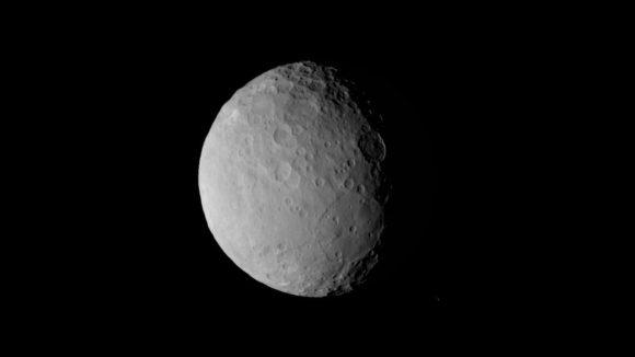 Imagen de Ceres tomada el 19 de febrero a 46 000 kilómetros (NASA/JPL).