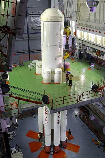 integration-of-1st-stage-of-pslv-c27