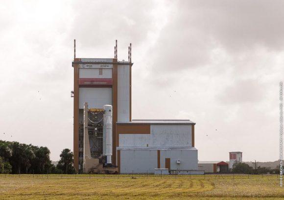Traslado del BIL al BAF (Arianespace).