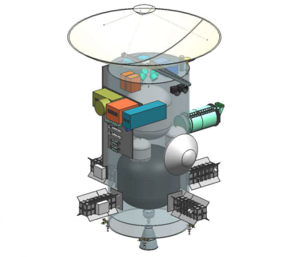 Sonda MUSE para estudiar Urano (NASA).