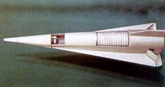 Prototipo del Tu-130 (www.buran.ru).