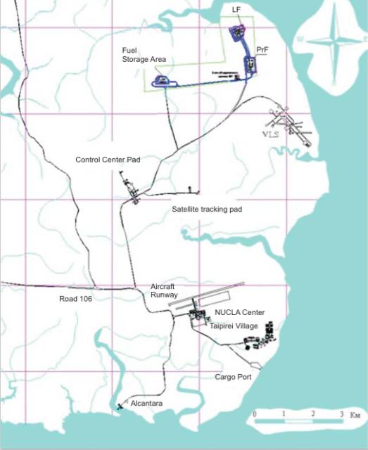 Mapa de Alcantara (ALC).