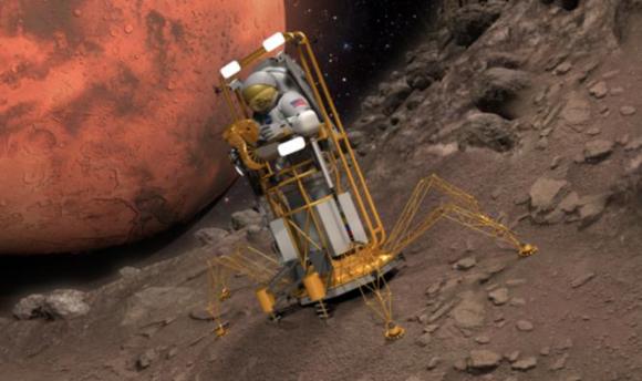 Vehículo no presurizado UEV para explorar Fobos o Deimos (NASA).