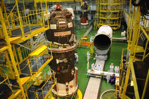 Nave Progress M-27M (RKK Energía).