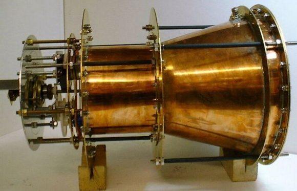 Motor EmDrive original de Shawyer (nasaspaceflight.com).