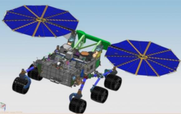 En un principio se pensó dotar al rover de 2020 de paneles solares para reducir el presupuesto, pero esto reduciría enormemente su potencial científico y el número de zonas de aterrizaje accesibles (NASA).