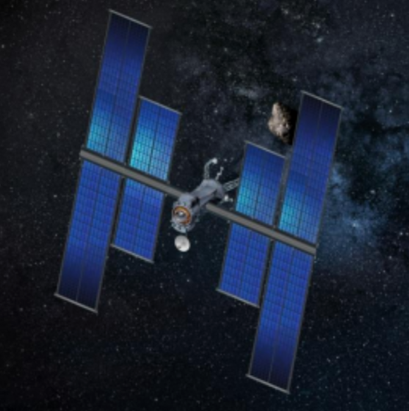 Etapa de propulsión SEP de la NASA de 150 kW de potencia para explorar el sistema solar (NASA).