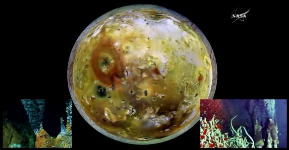Europa es una especie de Ío con corteza de hielo (NASA).