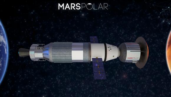 Nave MTV del proyecto Mars Polar (Mars Polar).