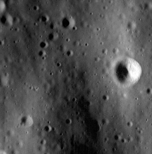 Imagen del 23 de abril con una resolución de 1,1 metros por píxel (NASA).