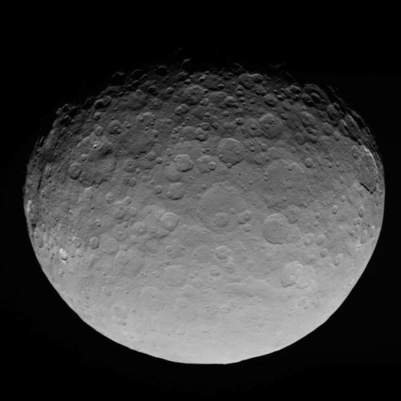 Imagen de Ceres del 4 de mayo desde 13600 kilómetros (NASA/JPL-Caltech/UCLA/MPS/DLR/IDA).
