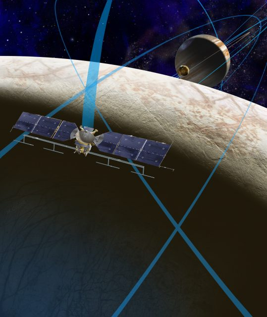 Sonda Europa Clipper (NASA/JPL).