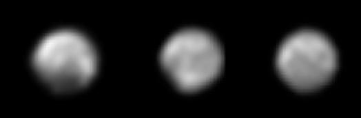 Últimas imágenes de Plutón por la New Horizons (NASA/JHUAPL/SwRI).