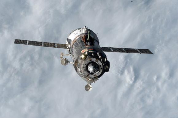 La Soyuz TMA-15M se separa de la ISS (NASA).