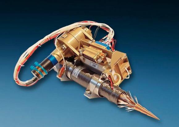 Uno de los taladros del sistema MUPUS que fallaron (ESA).