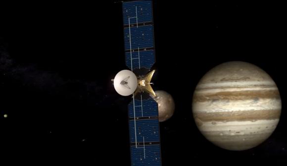 La sonda de la NASA para el estudio de Europa (NASA).