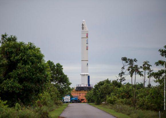 EAP de la misión VA 224 (Arianespace).