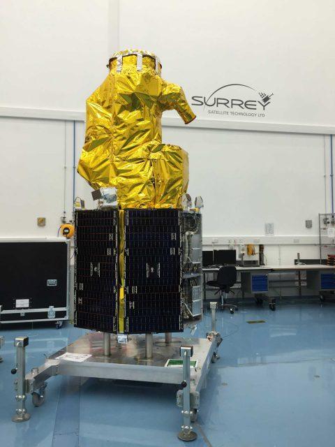Un satélite DMC3 (ISRO).