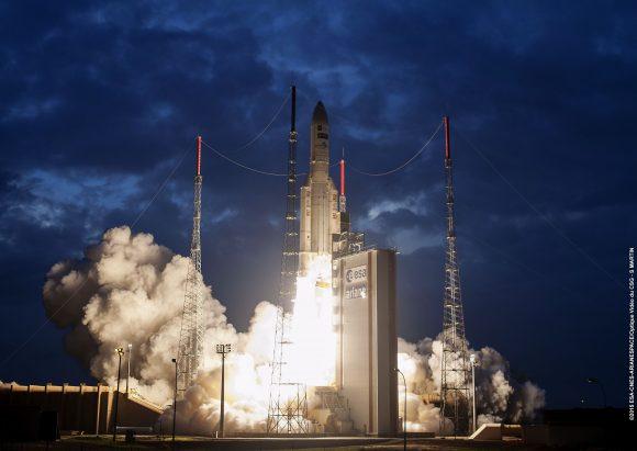 Lanzamiento de la VA224 (Arianespace).