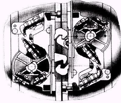 Ganchos de acoplamiento para garantizar el Segundo Enlace Mecánico.