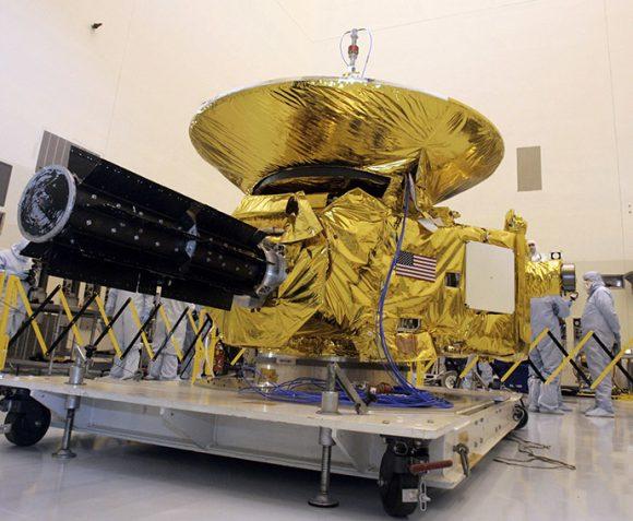 La sonda New Horizons antes del lanzamiento (NASA).