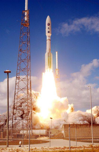 Lanzamiento de la New Horizons en 2006 (NASA).