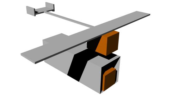 Otra propuesta de avión marciano que se puede desplegar desde un Cubesat ().