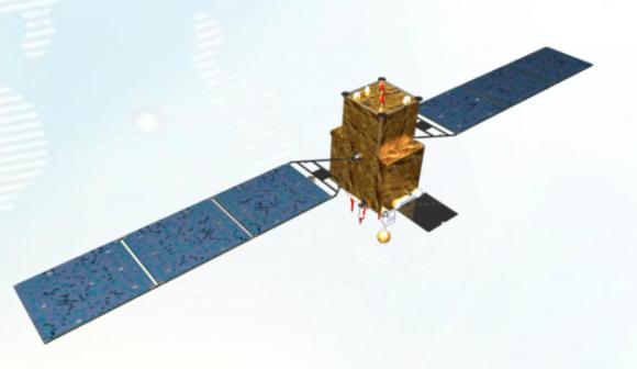 Un satélite Beidou-3 (CAST).