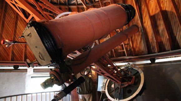 El telescopio usado por Tombaugh para descubrir Plutón (Mark Duggan/https://www.azpm.org/).